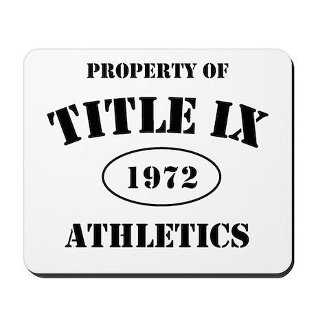 Title IX Mousepad