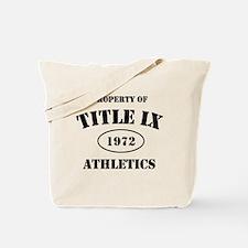 Title IX Tote Bag