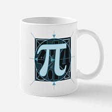 Pi Sign Drawing Mug