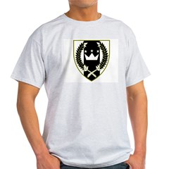 Meridies Ash Grey T-Shirt