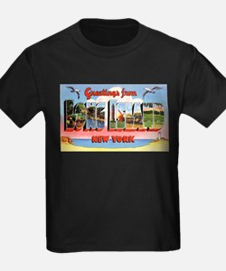 Long Island New York Greetings Ash Grey T-Shirt