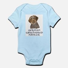 German Wirehaired Pointer Infant Creeper