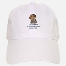 German Wirehaired Pointer Baseball Baseball Cap