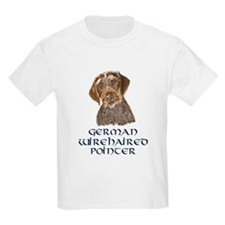 German Wirehaired Pointer Kids T-Shirt