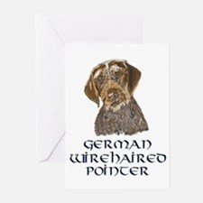 German Wirehaired Pointer Greeting Cards (Package