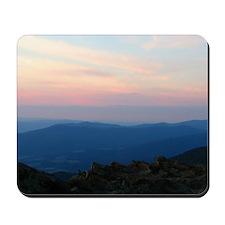 Blue Ridge Mountain Sunset - Mousepad