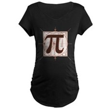 Pi Sign Drawing T-Shirt