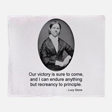 Lucy Stone Throw Blanket