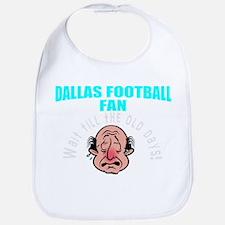 Dallas football fan Bib