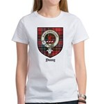 Young Clan Crest Tartan Women's T-Shirt
