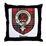 Young Clan Crest Tartan Throw Pillow