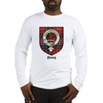 Young Clan Crest Tartan Long Sleeve T-Shirt