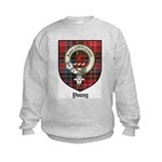 Young Clan Crest Tartan Kids Sweatshirt