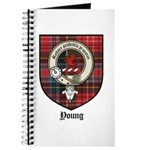 Young Clan Crest Tartan Journal