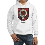 Young Clan Crest Tartan Hooded Sweatshirt