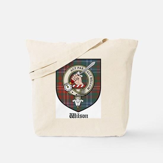 Wilson Clan Crest Tartan Tote Bag