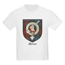 Wilson Clan Crest Tartan Kids T-Shirt