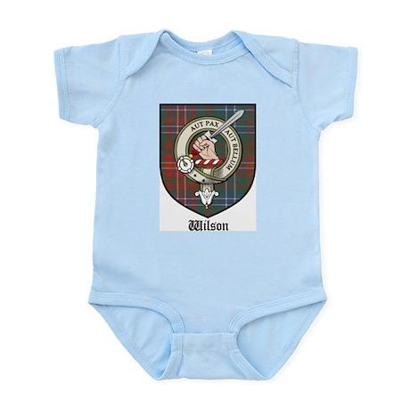 Wilson Clan Crest Tartan Infant Creeper