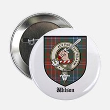 "Wilson Clan Crest Tartan 2.25"" Button (10 pack)"