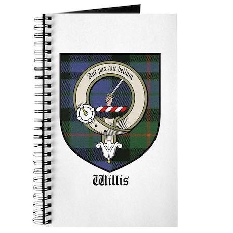 Willis Clan Crest Tartan Journal
