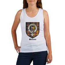 Williams Clan Crest Tartan Women's Tank Top