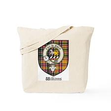 Williams Clan Crest Tartan Tote Bag