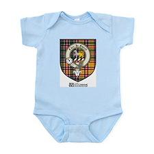 Williams Clan Crest Tartan Infant Creeper