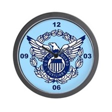 USCG Auxiliary Image<BR> Wall Clock