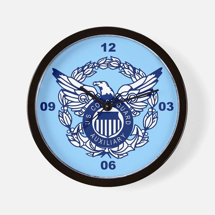 USCG Auxiliary Image<BR> Wall Clock