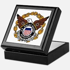 USCG Auxiliary Image<BR> Tile Insignia Box