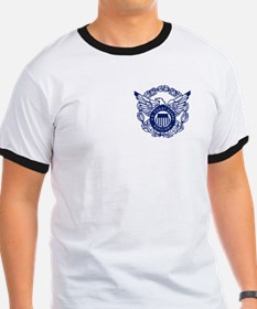 USCG Auxiliary Image<BR> Black T