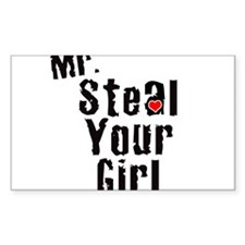 Mr. Steal Your Girl Decal