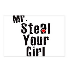 Mr. Steal Your Girl Postcards (Package of 8)