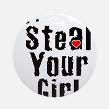 Mr. Steal Your Girl Ornament (Round)