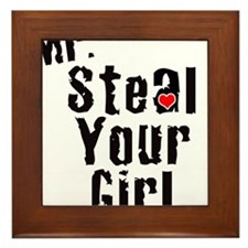 Mr. Steal Your Girl Framed Tile