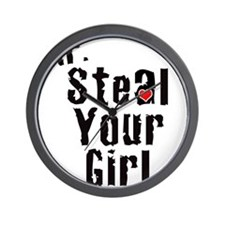 Mr. Steal Your Girl Wall Clock