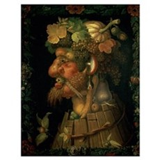 Autumn, from a series depicting the four seasons Poster