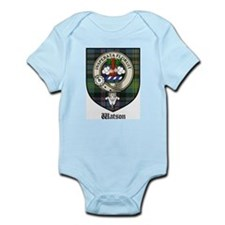 Watson Clan Crest Tartan Infant Creeper