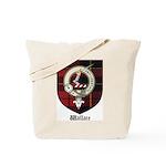 Wallace Clan Crest Tartan Tote Bag