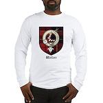 Wallace Clan Crest Tartan Long Sleeve T-Shirt