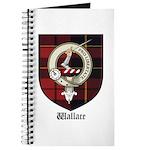 Wallace Clan Crest Tartan Journal