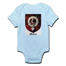 Wallace Clan Crest Tartan Infant Creeper