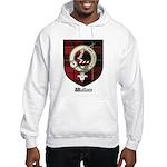 Wallace Clan Crest Tartan Hooded Sweatshirt