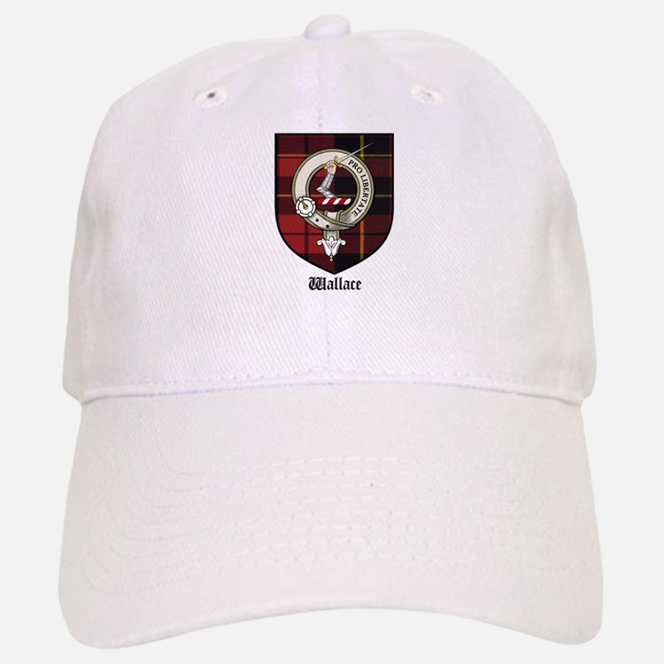 Wallace Clan Crest Tartan Baseball Baseball Cap