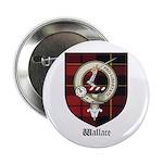 Wallace Clan Crest Tartan 2.25
