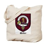 Walker Clan Crest Tartan Tote Bag