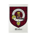 Walker Clan Crest Tartan Rectangle Magnet (10 pack