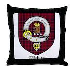 Walker Clan Crest Tartan Throw Pillow