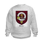 Walker Clan Crest Tartan Kids Sweatshirt