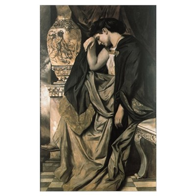 Medea, 1873 (oil on canvas) Poster